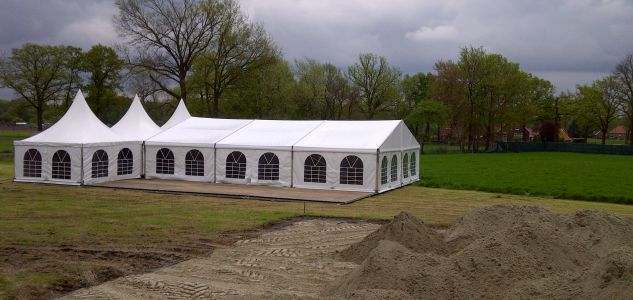 Aluframe tent 2
